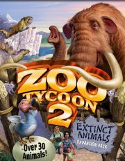Обложка игры Zoo Tycoon 2:  Extinct Animals