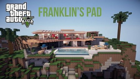Скачать Карту GTA V – Franklin's Pad для Minecraft 1.6.4