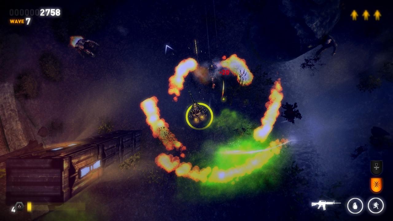 Three dead zed - zombie game