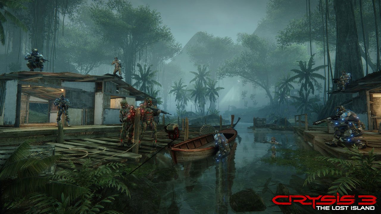 Crysis 3: The Lost Island Снимок из игры